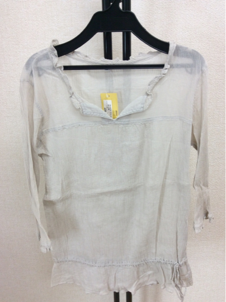 無印良品 長袖洗いざらしシャツ mサイズ 2枚 麻